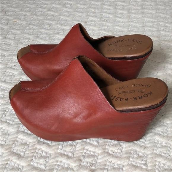 56fec8978c8 Kork-Ease Shoes - Kork-Ease peep toe wedge sandals